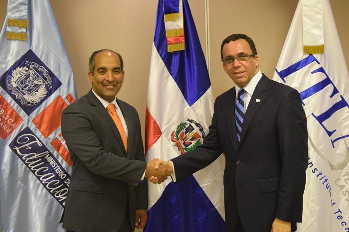 ITLA y MINERD firman alianza para crear politécnico