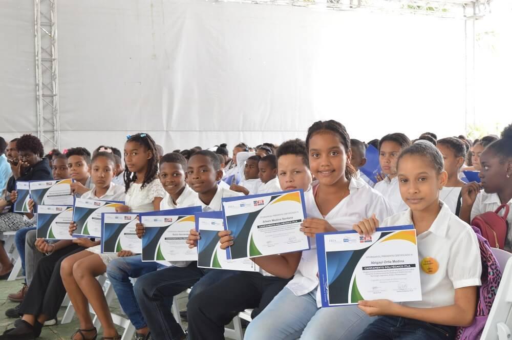 Realizan Campamento Politécnico ITLA